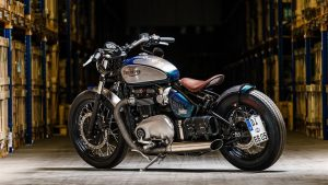 Triumph Bonneville Bobber review by We Want Your Motorbike